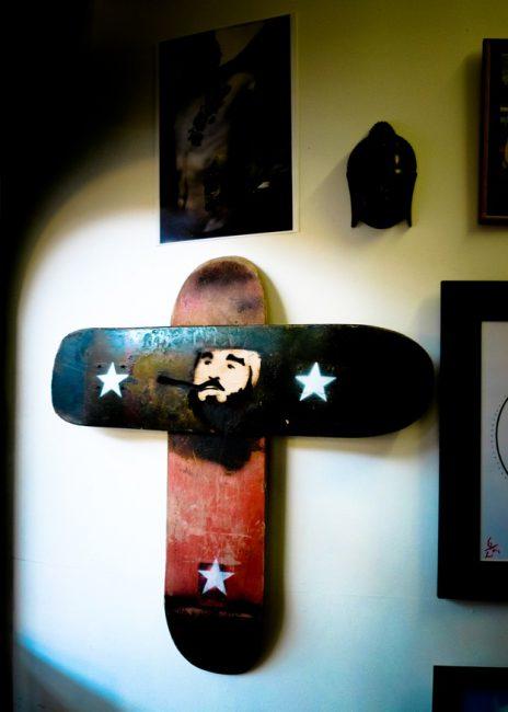 Castro Skateboard Crucifix