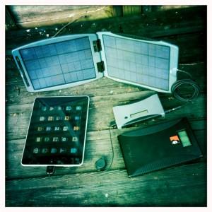 Solar Charging The iPad
