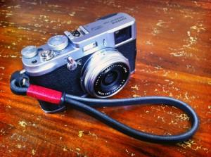 Gordy's Camera Strap on the Fuji X100