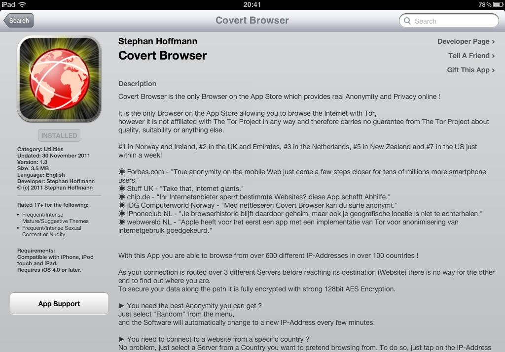 t online browser app