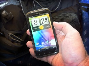 Trying Android on the HTC Sensation
