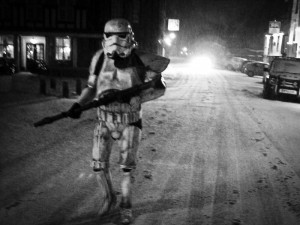 001 - Go to a pub dressed as a Stormtrooper