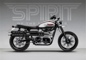 Triumph Scrambler Designs from @SpiritOfThe70s