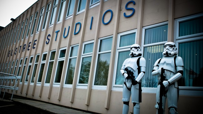 Storm Troopers at Elstree Studio