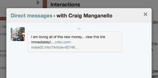 Craig DM Spam After Death