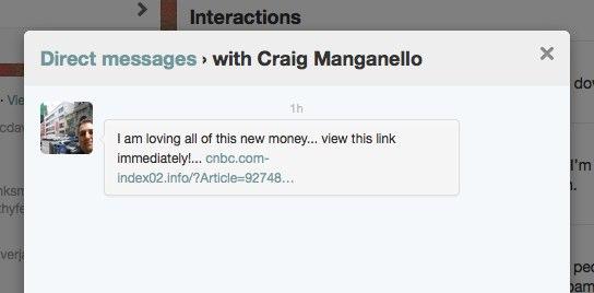 Craig DM Spam After Death
