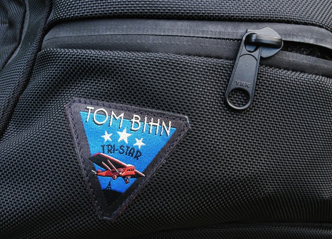 TomBihn logo 650x468 The Tom Bihn Tri Star Carry on Travel Bag