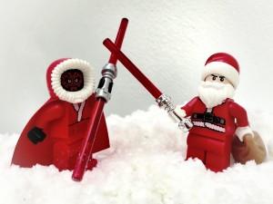 Santa is a Jedi