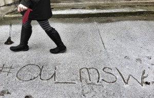 OU_MSW in the snow