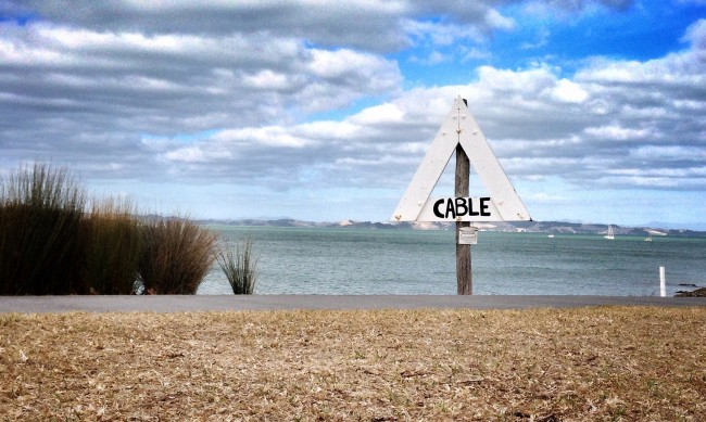 Cable Sign