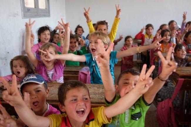 Kids chant