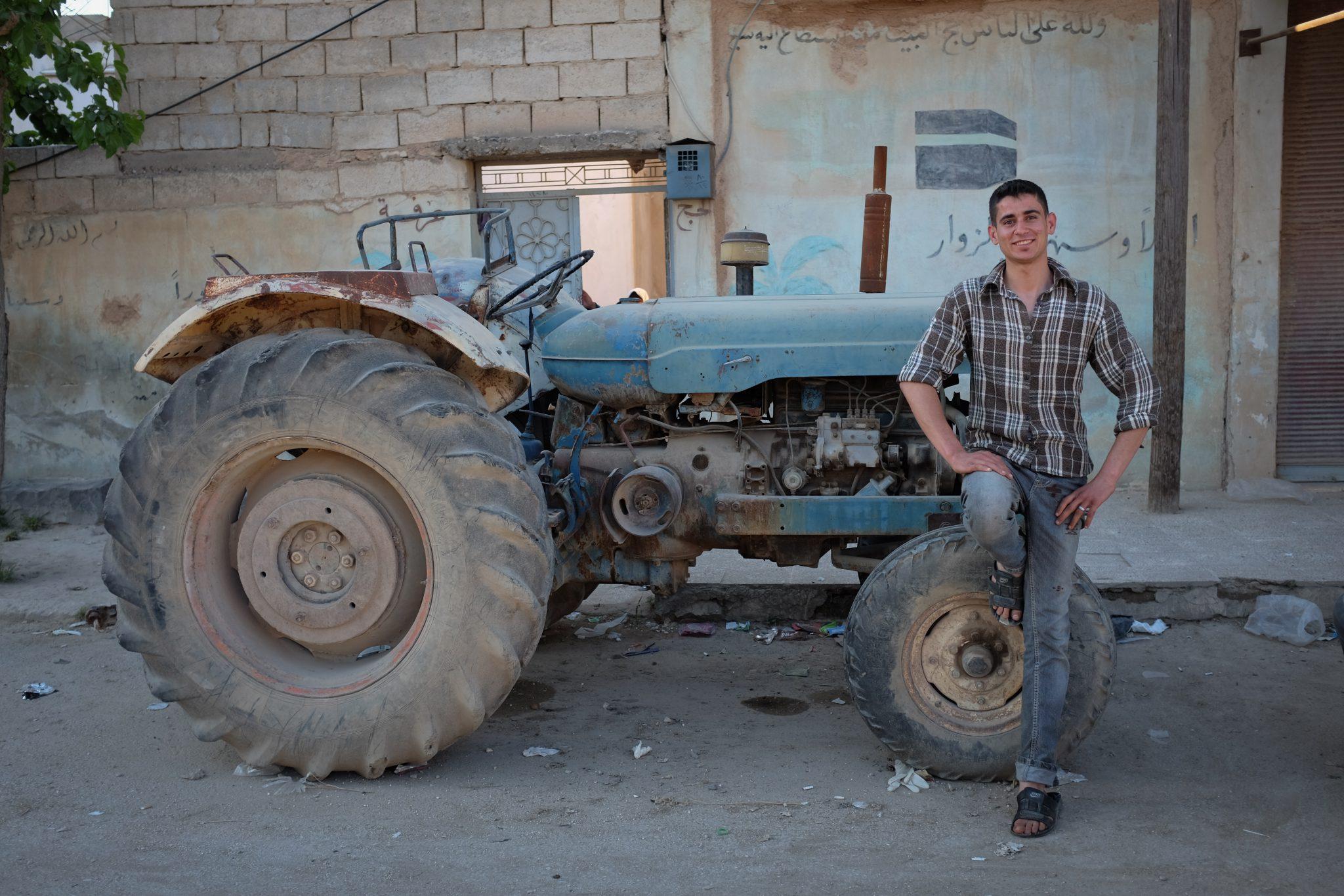 Cynddylan on a Tractor - Sample Essay