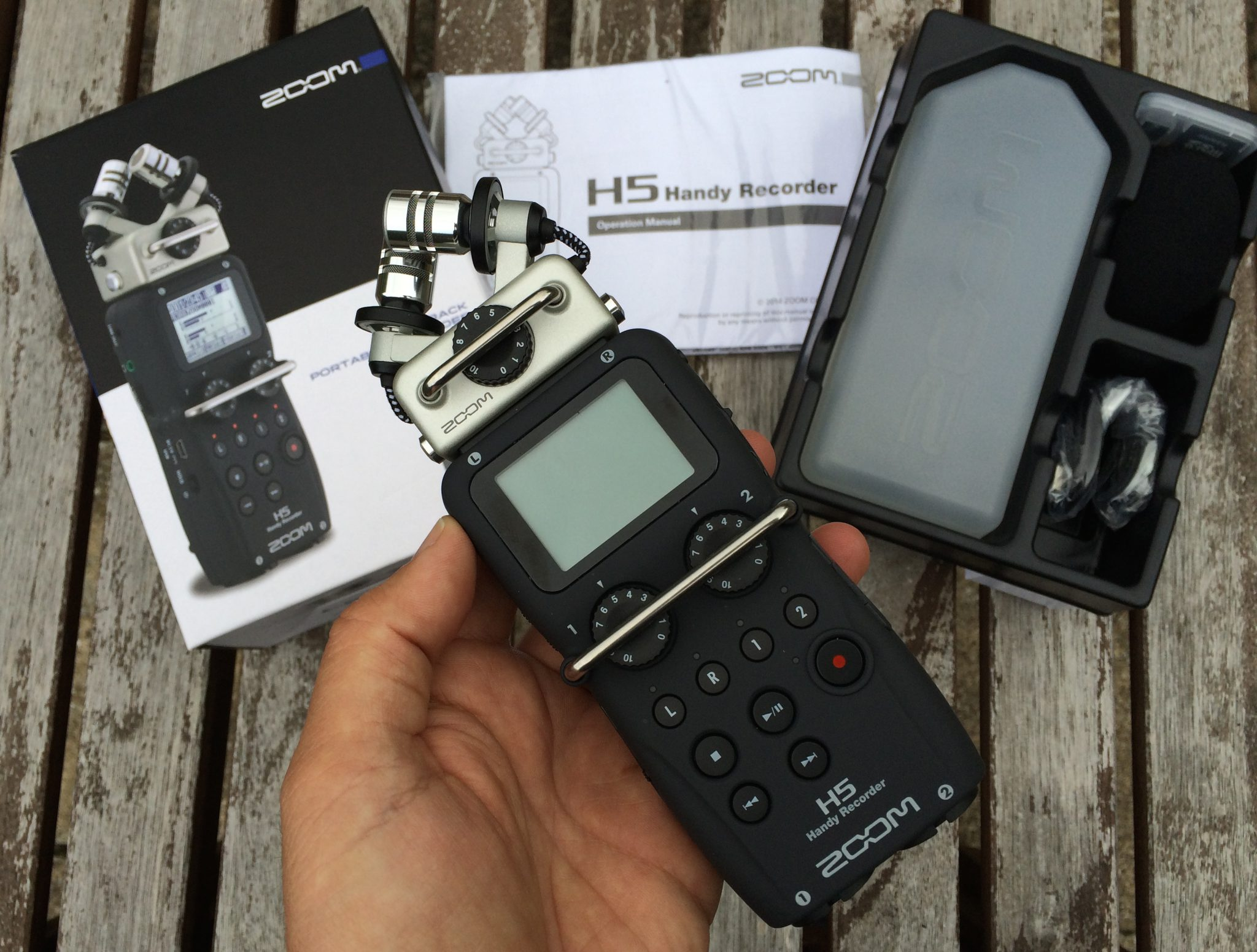 Zoom H5 Handy Recorder Review