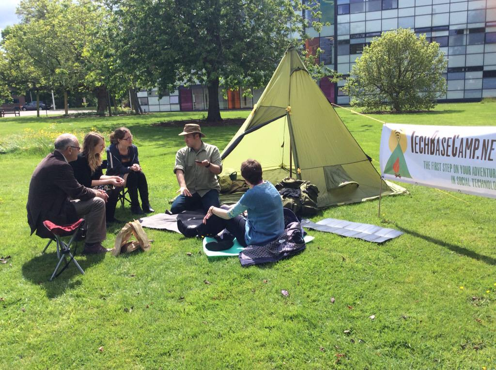 I work from a tent. What better adventurous learning environment? My tech and wifi hotspot are powered by solar and batteries. So all thatu0027s needed is an ... & workshops by @Documentally Christian Payne