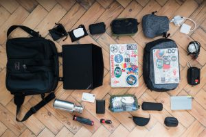Pack less and document more – My latest EDC the Tom Bihn Pilot